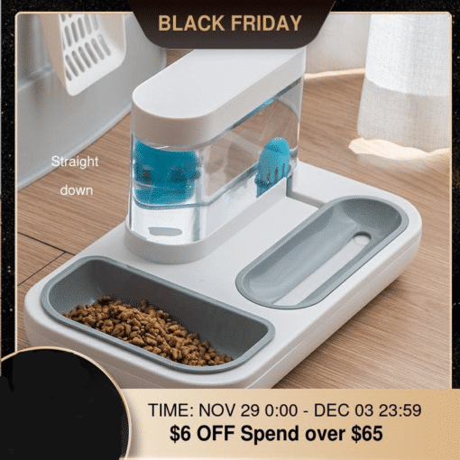 4 Style Pet Cat Bowl Dog for Cats Feeder Bowls Kitten Automatic Drinking Fountain 1.5L Capacity